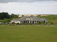 Clubhouse as seen from the Holywell course