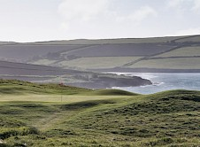 17th green and the estuary