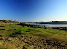 The 16th with Padstow across the estuary