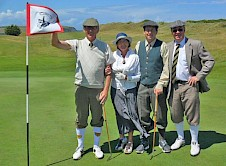 A fine team of golfers or is it goffers?