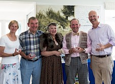 The Runners Up Claire Page Robert Dooley Beth Elliott (still in period dress) David Elliott and Matt Mills