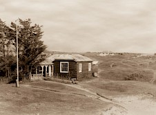 The old and the new Clubhouses 1936