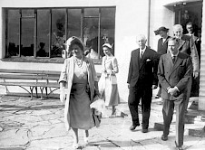 Visit of the King & Queen in 1951
