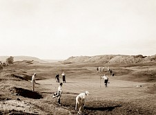 The old first green (now 18th)