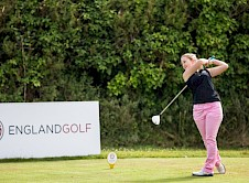 Aimee Paterson teeing off
