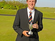 Joe Cruse (St Enodoc) winner of the Scratch Cup in the Championship 36 hole qualifier