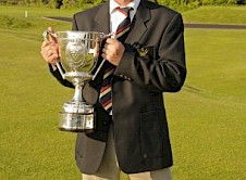 Mike Reynard winner of the Cornwall Amateur Championship 2012