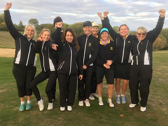 Cornwall Ladies 2nd Team are SW Counties Champions