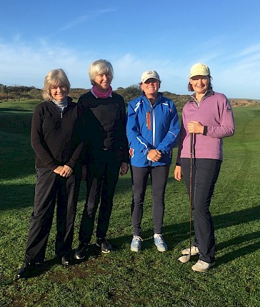Ladies Church Winter Foursomes Final 2018