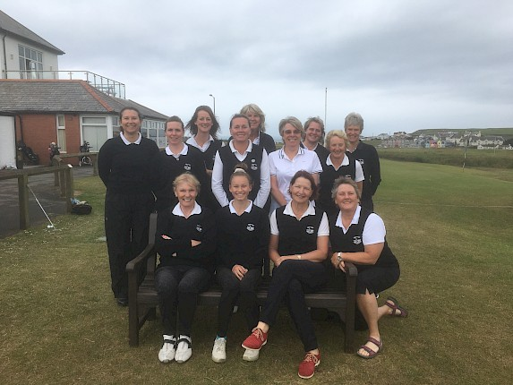 Ladies Gammon Team overcome Looe GC Ladies
