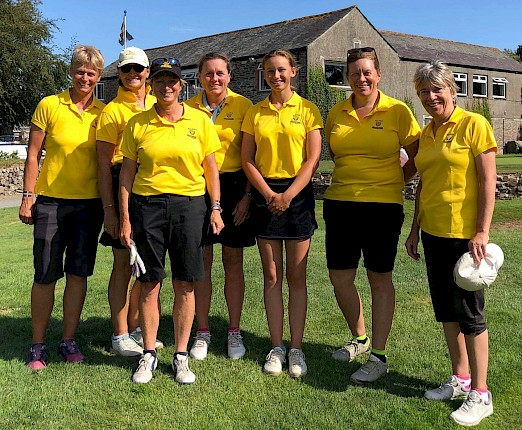 Strong St Enodoc representation helps Cornwall Ladies 2nd team beat Somerset