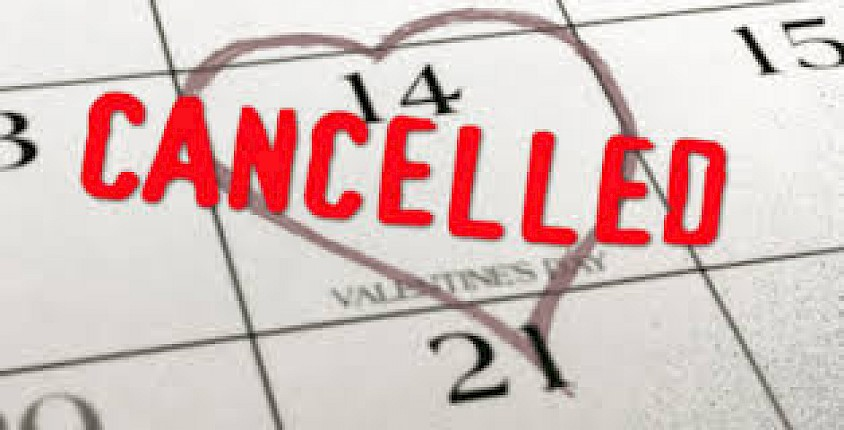 Valentines Day Foursomes - Cancelled re Weather Warning