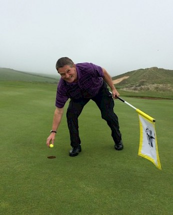Hole in One for Les Spong