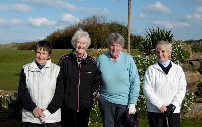 Holywell Winter Foursomes Final.