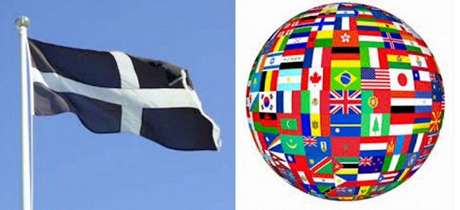 Cornwall vs Rest of the World