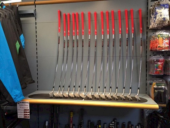 Nick Williams now selling golf clubs with bent shafts !