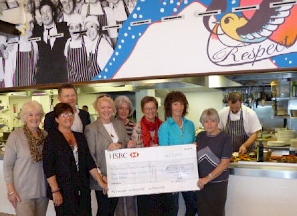 Ladies Captain's Charity Presentation.