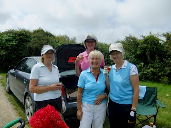 Lady Vets and a modified stableford competition