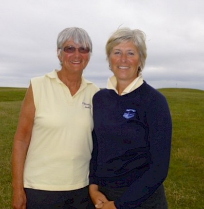 Success for Sue at Mullion.