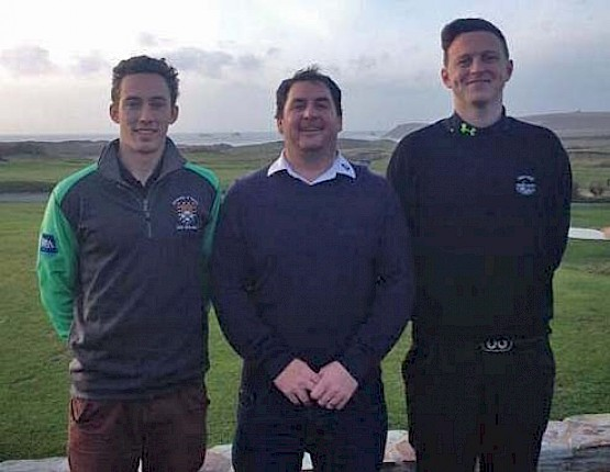 Cornwall Winter Golf Series Round 5 successes